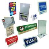comprar placa de pvc impressão digital Campo Limpo
