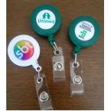 orçamento de roller clips de pvc para brindes Jardim Ângela